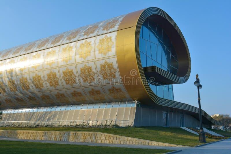Vues de Bakou, musée de tapis images libres de droits