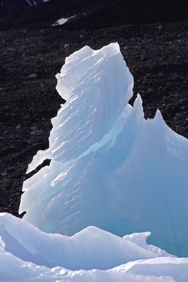 Vues de glacier autour de glacier du Monaco photographie stock
