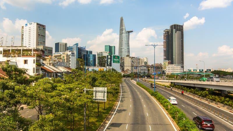 Vues de Ho Chi Minh City (Saigon) photo stock