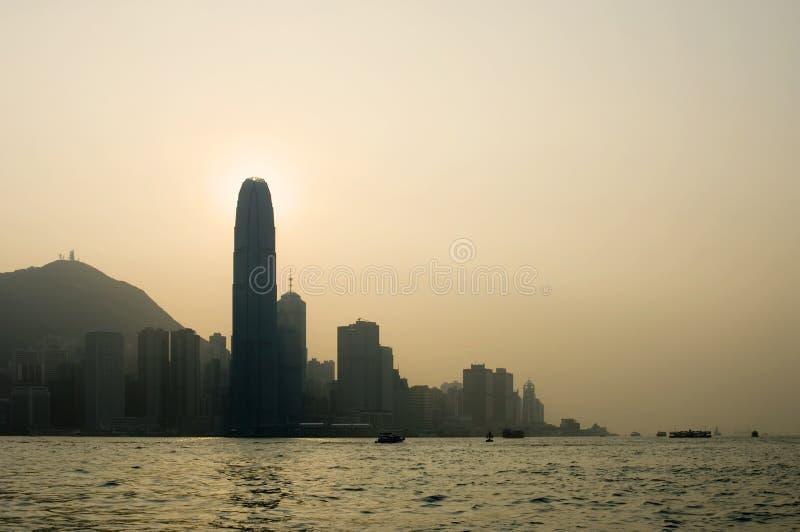 Vues de Hong Kong photographie stock