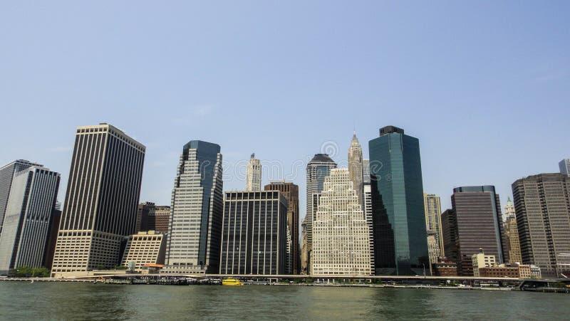 Vues de Manhattan photos libres de droits