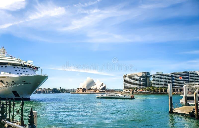 Vues de port de Sydney photographie stock libre de droits