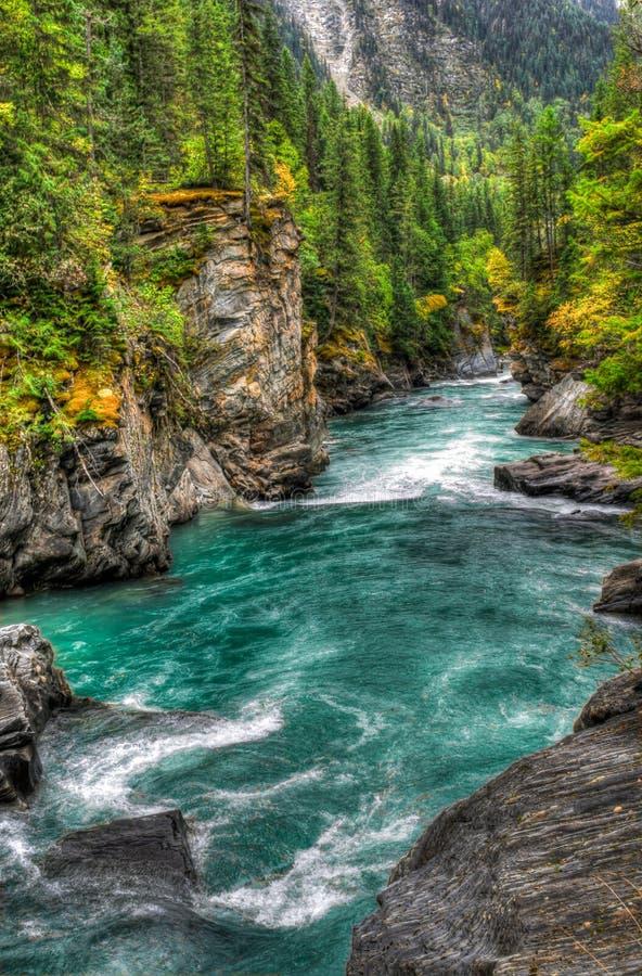 Vues de rivière photographie stock