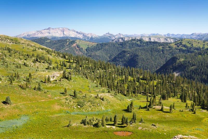 Vues le long du journal du Colorado photo stock