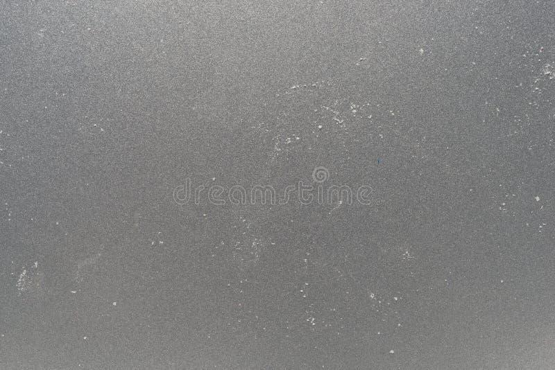 Vuil bakselblad met crumbs van suiker royalty-vrije stock afbeeldingen