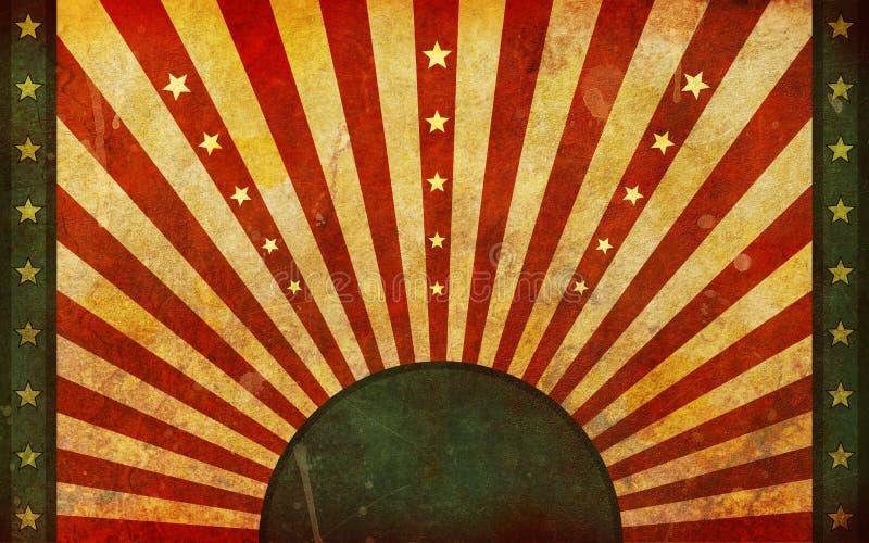 Vuil, Oud, het Grafische Ontwerp van de Vlag Grunge vector illustratie