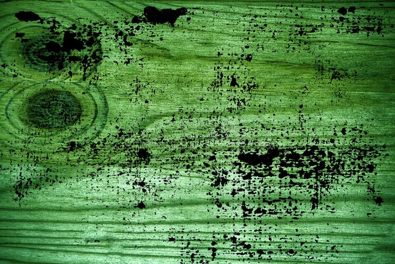 Vuile grunge ultra groene Houten textuur, scherpe raadsoppervlakte voor ontwerpelementen royalty-vrije stock foto's