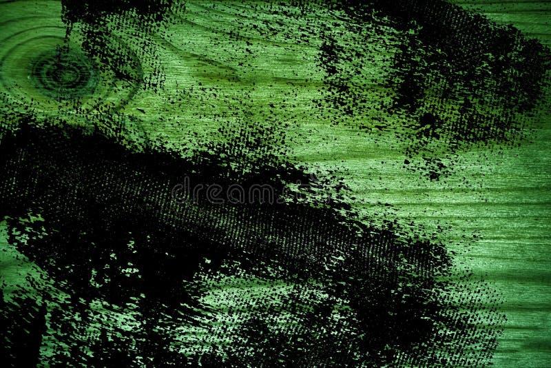Vuile grunge ultra groene Houten textuur, scherpe raadsoppervlakte voor ontwerpelementen stock foto's