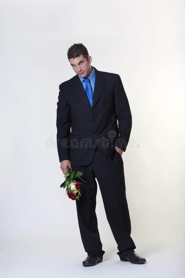Vuile rotte bloemen stock afbeeldingen