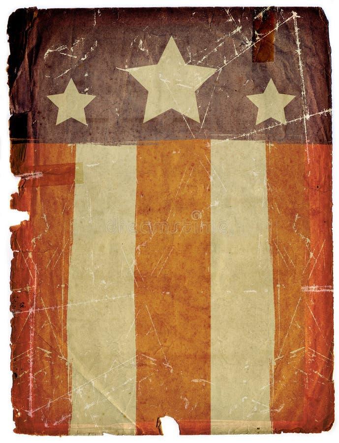 Vuile van het Document Grunge Textuur Als achtergrond stock foto