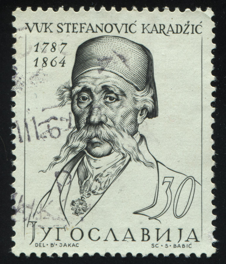 Free Vuk Stefanovic Karadzis Royalty Free Stock Photo - 99283155