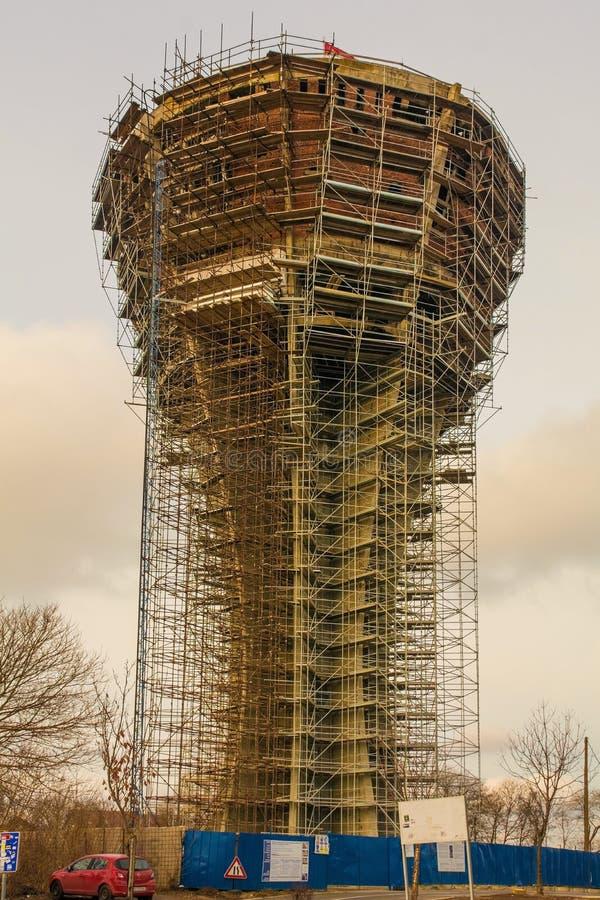 Vukovar wieża ciśnień fotografia royalty free