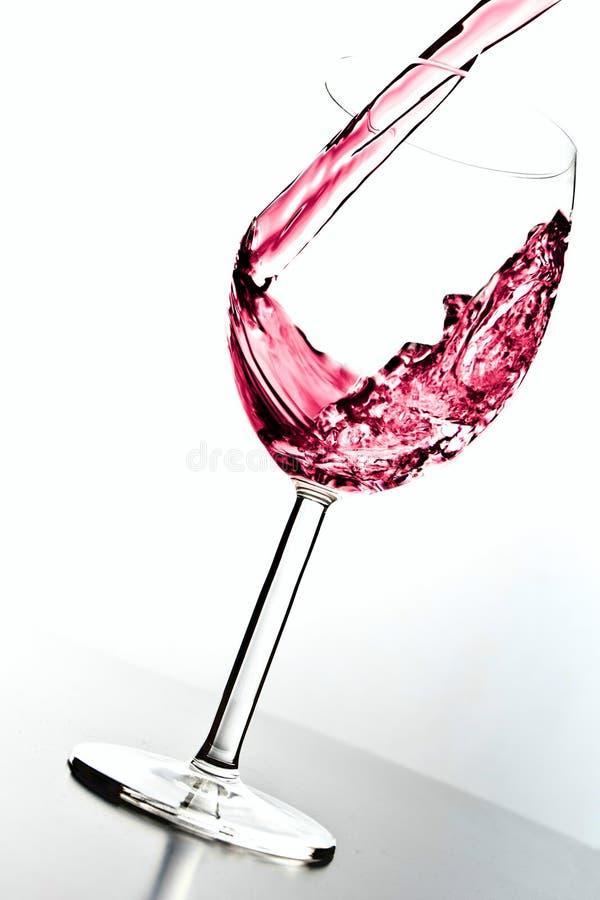 Vul het glas royalty-vrije stock foto's