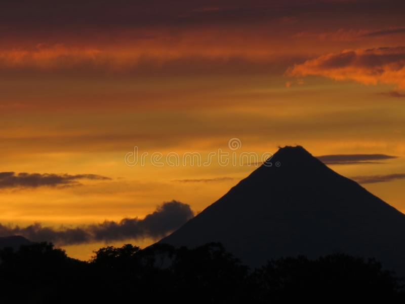 vulcão imagens de stock royalty free