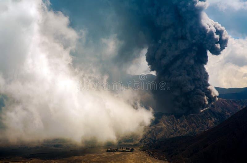 Vulcão de Bromo imagem de stock royalty free