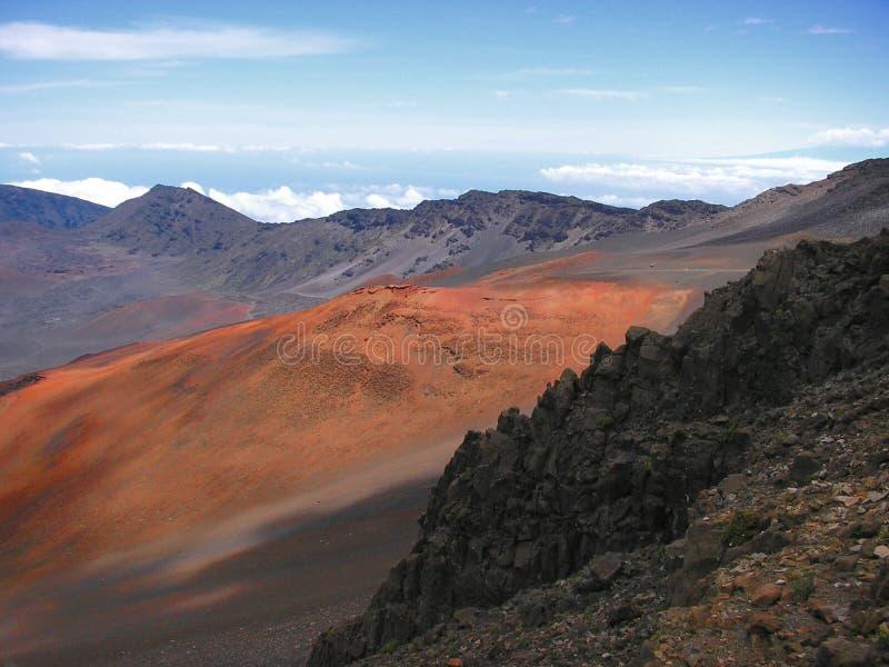 Vulcão De Haleakala Foto de Stock