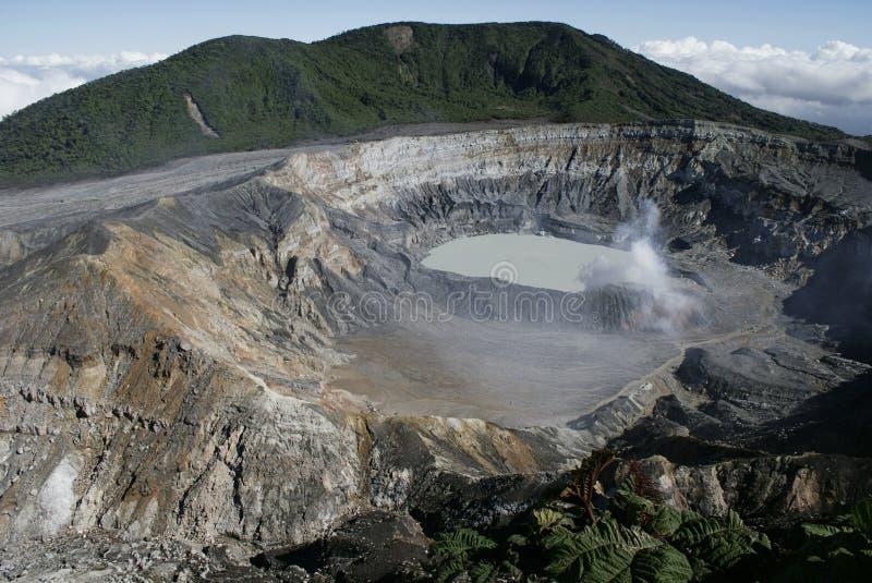 Vulcão de Poas imagem de stock royalty free