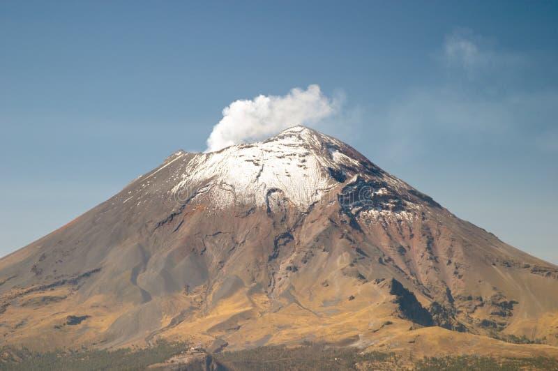 Vulcão de Popocatepetl fotografia de stock royalty free