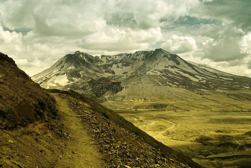 Vulcão de St'Helens fotos de stock
