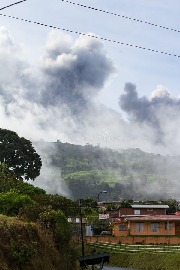 Vulcão de Turrialba, Costa-Rica imagem de stock royalty free