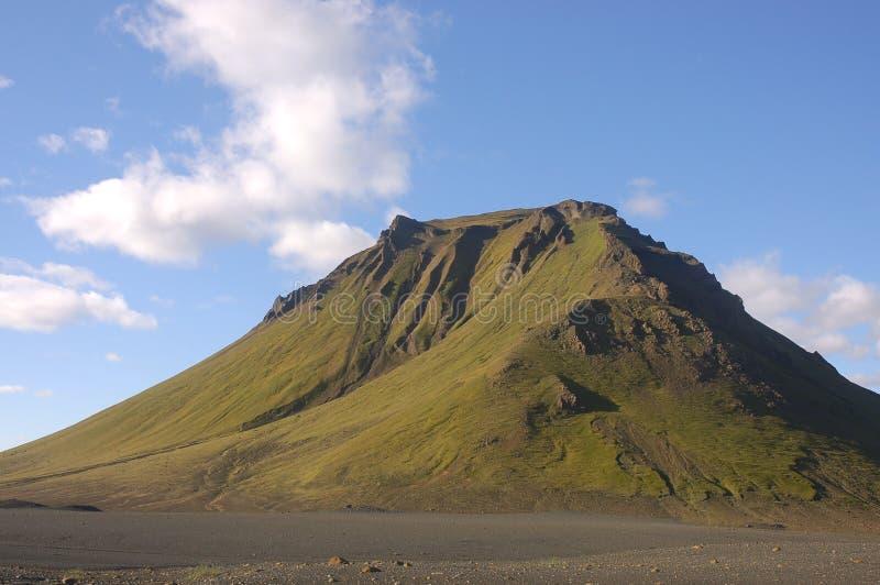 Vulcão em Islândia. foto de stock royalty free