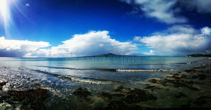 Vulcão em Nova Zelândia imagens de stock