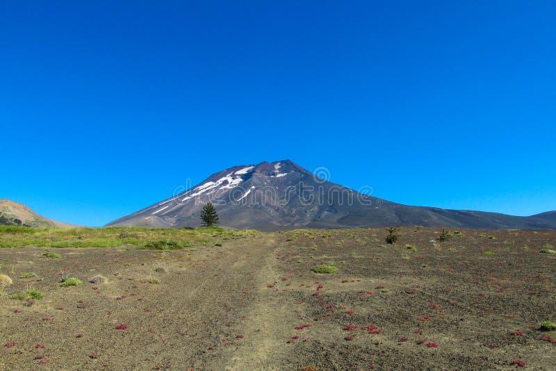 Vulcão no Chile fotos de stock