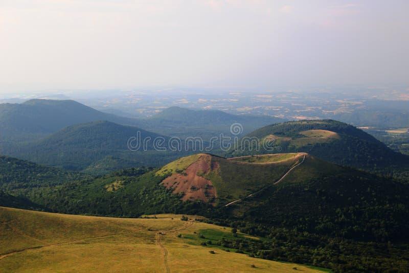 Vulcain dans l'Auvergne image libre de droits
