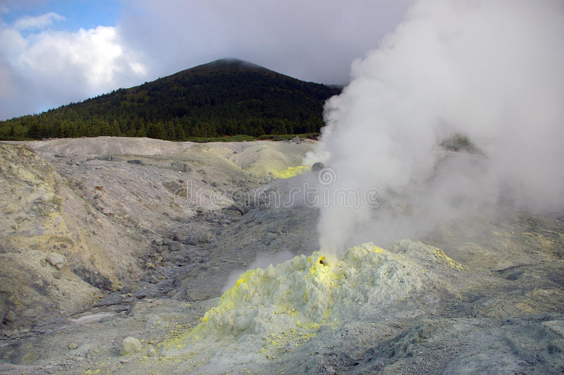 vulcan的mendeleev 库存图片