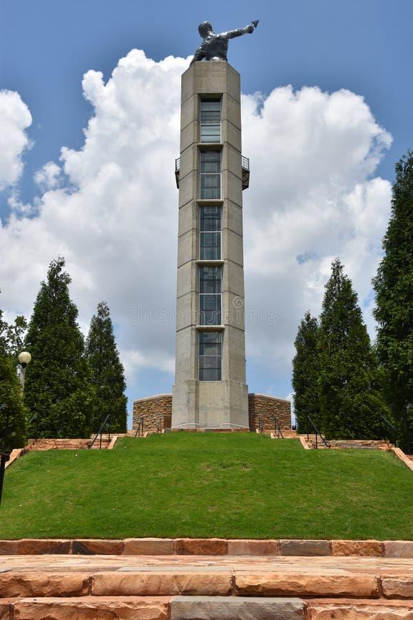 Vulcan в Бирмингеме, Алабаме стоковое изображение