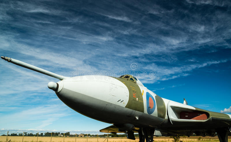 Download Vulcan Bomber stock photo. Image of classic, force, aeroplane - 28424862