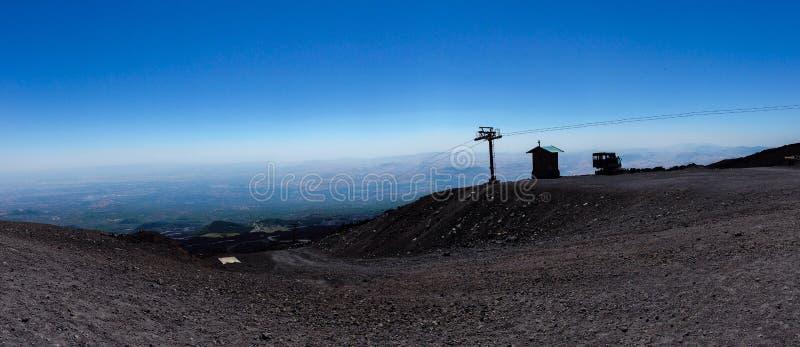 Vulcan el Etna imagen de archivo