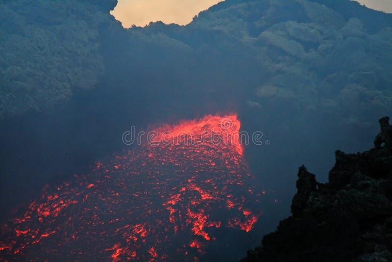 Vulcan Lava stockfoto