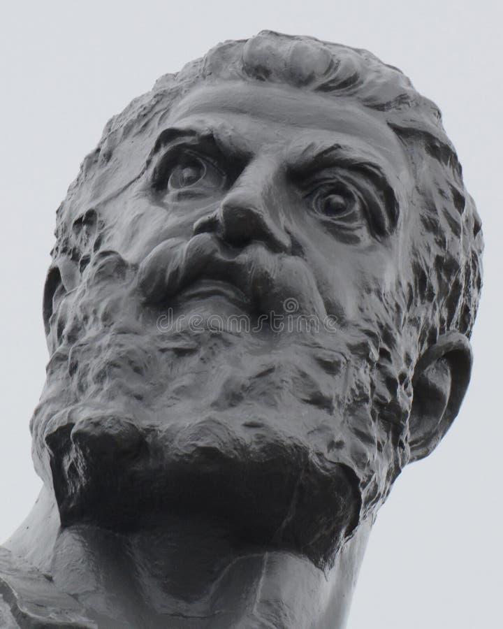 Vulcan, Roman God di fuoco e del primo piano della forgia fotografia stock