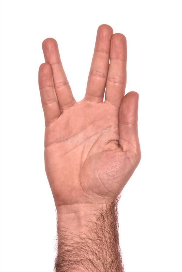 Download Vulcan salute stock image. Image of thumb, male, salute - 7493589