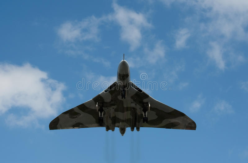 Vulcan XH558 Editorial Stock Image