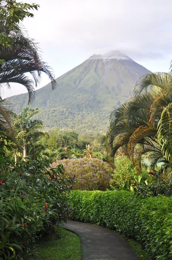vulcano immagine stock