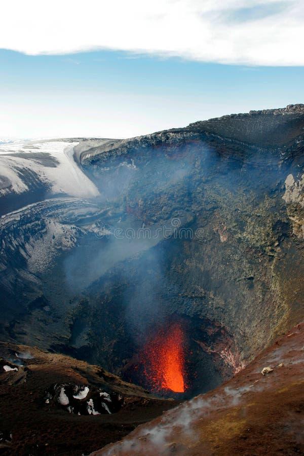 vulcano royaltyfri bild