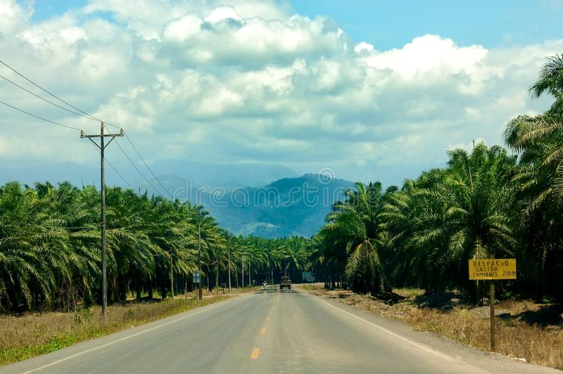 Vulcano Arenal, Costa Rica stockfoto