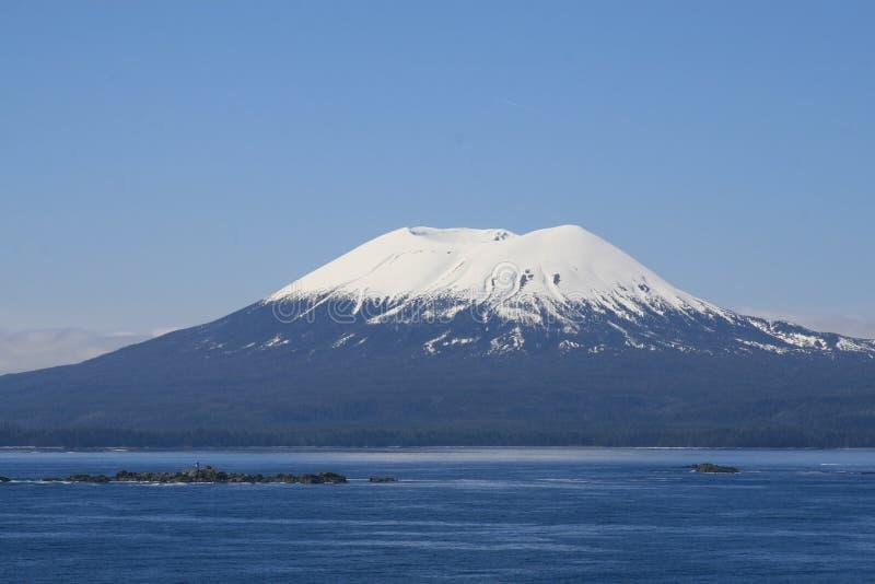 Vulcano d'Alasca immagine stock