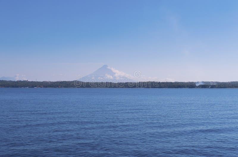 Vulcano de Mayon imagem de stock