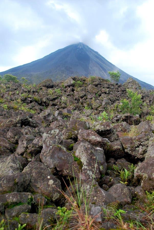 Vulcano di Arenal immagine stock