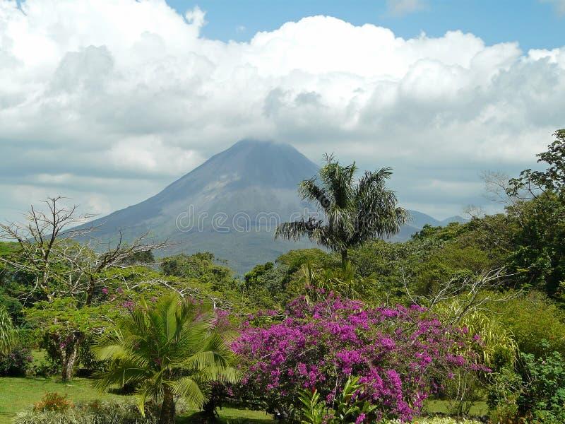 Vulcano di Arenal fotografie stock libere da diritti