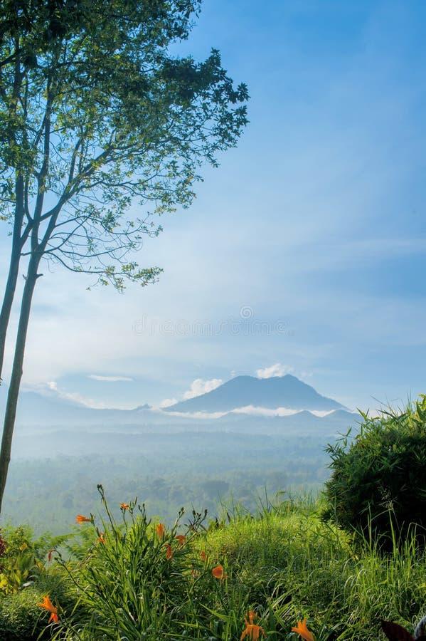 Vulcano di Kawah Ijen, Indonesia immagini stock