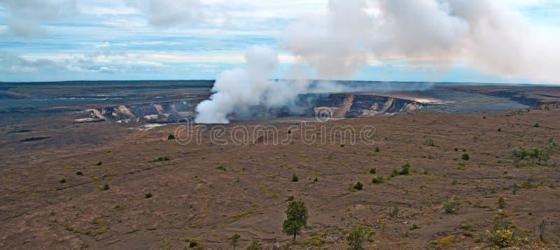 Vulcano Di Kilauea Sulla Grande Isola Dell Hawai Fotografia Stock