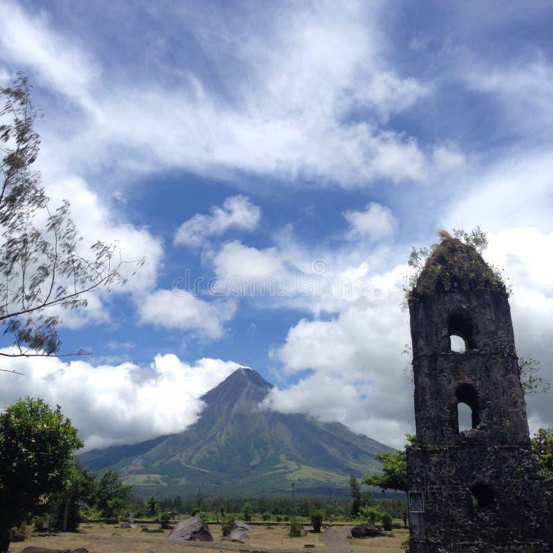 Vulcano di Mayon immagine stock