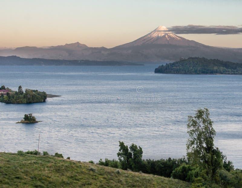 Vulcano di Osorno nel Cile immagini stock