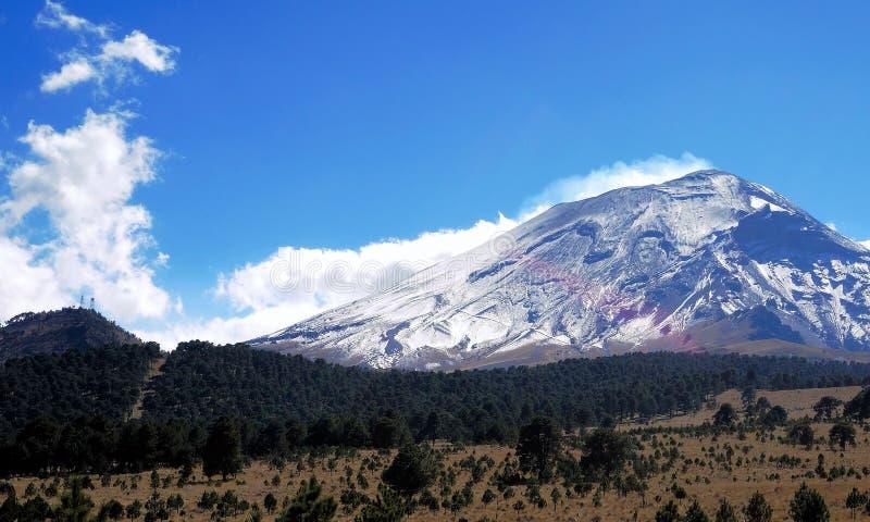 Vulcano di Popocatepetl fotografie stock