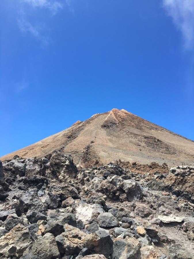 Vulcano di Teide fotografie stock