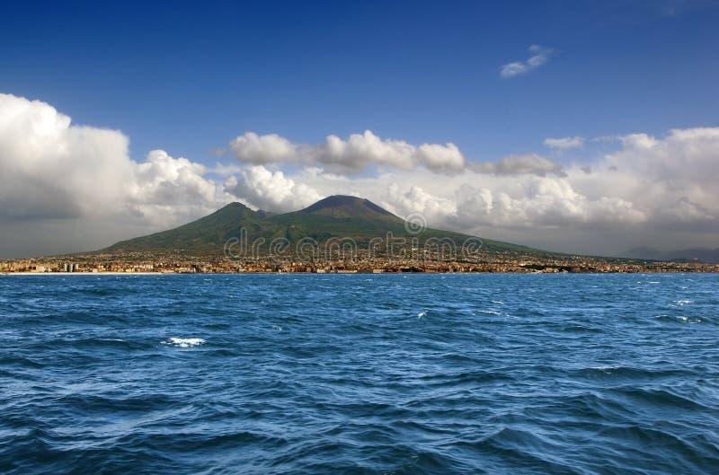 Vulcano di Vesuvio. Napoli. L'Italia fotografia stock libera da diritti